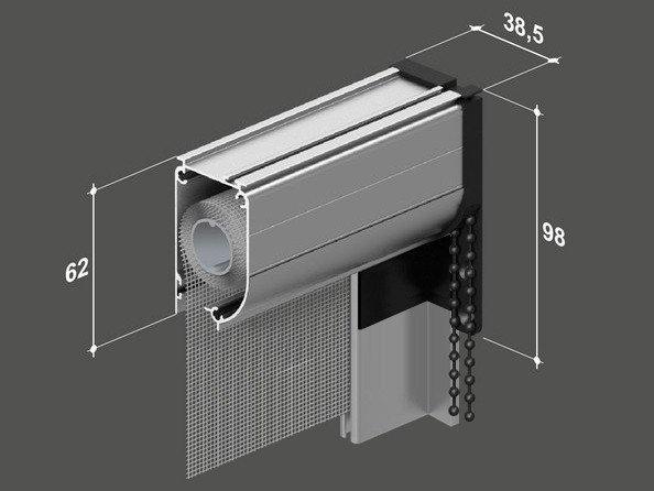 Zanzariera finestra catena 40mm - Zanzariera finestra prezzo ...