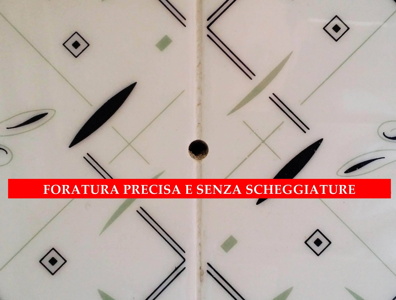 Punte per gres elegant prezzo foretto diamantato umido diam mm granito marmo gres with punte - Punte per piastrelle ...